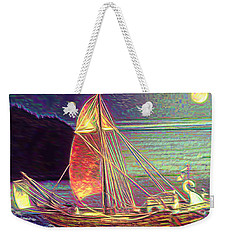Moonlit Corbita I Weekender Tote Bag by Anastasia Savage Ealy