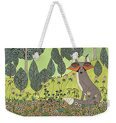 Moonlit Meadow Weekender Tote Bag