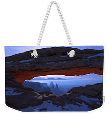 Moonlit Mesa Weekender Tote Bag by Chad Dutson