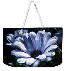 Weekender Tote Bag featuring the photograph Moonlit Petals. From The Beautiful by Mr Photojimsf