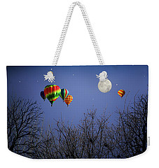 Moonlit Ride Weekender Tote Bag