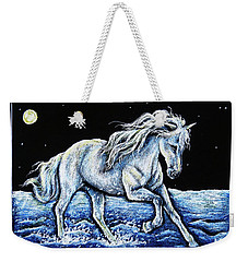 Moonlit Run Weekender Tote Bag