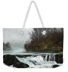 Moonlit Serenity Weekender Tote Bag by Marna Edwards Flavell