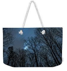 Moonlit Sky Weekender Tote Bag