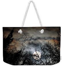 Moonlite Ride Weekender Tote Bag