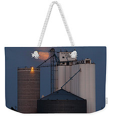 Moonrise At Laird -01 Weekender Tote Bag