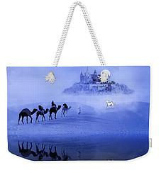 Moonrise At The Magical Oasis Weekender Tote Bag