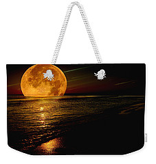 Moonrise Weekender Tote Bag by James C Thomas