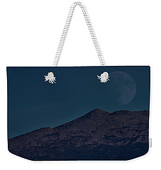 Moonrise Mount Adams Weekender Tote Bag