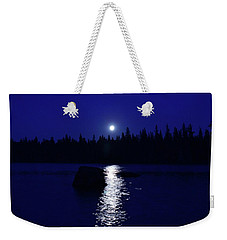 Moonrise On A Midsummer's Night Weekender Tote Bag by David Porteus