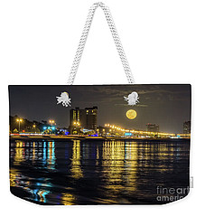 Moonrise Over Biloxi Weekender Tote Bag