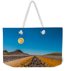 Moonrise Wyoming Weekender Tote Bag