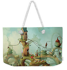 Moonshine Manor The Finest Distillery West Of The Sun Weekender Tote Bag