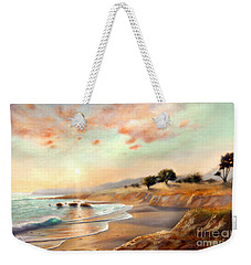 Moonstone Beach California Weekender Tote Bag