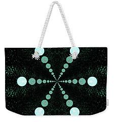 Weekender Tote Bag featuring the digital art Moonwalk by Aliceann Carlton