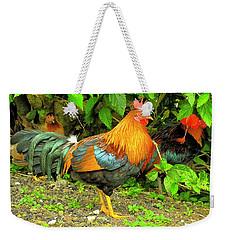 Moorea Chicken Weekender Tote Bag by Bill Barber