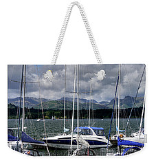 Moored In Beauty Weekender Tote Bag