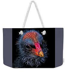 Moorhen Chick Weekender Tote Bag