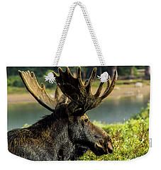 Moose Adventure Weekender Tote Bag