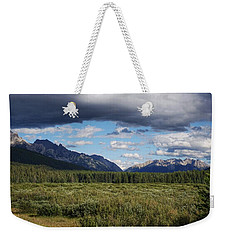 Moose Meadows, Alberta Weekender Tote Bag