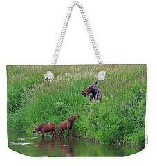 Moose Play Weekender Tote Bag