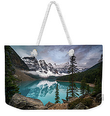 Moraine Lake In The Canadaian Rockies Weekender Tote Bag