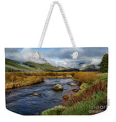 Moraine Park Morning - Rocky Mountain National Park, Colorado Weekender Tote Bag by Ronda Kimbrow