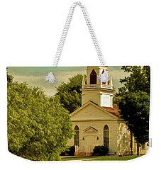 Moravian Church Weekender Tote Bag