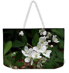 More Blackberry Flowers Weekender Tote Bag