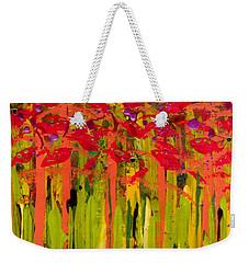 More Flowers In The Field Weekender Tote Bag
