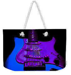Weekender Tote Bag featuring the photograph More Guitar Less Homework by Guitar Wacky