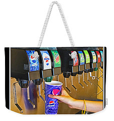 More Ice Please Weekender Tote Bag by Debbie Portwood