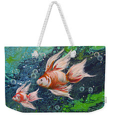 More Little Fishies Weekender Tote Bag