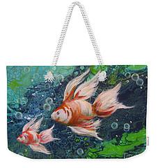 More Little Fishies Weekender Tote Bag
