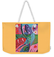 More Love Weekender Tote Bag