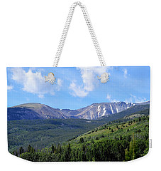 More Montana Mountains Weekender Tote Bag