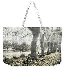 More Than A Bit Arty Weekender Tote Bag