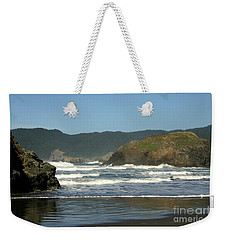 More Than A Wave Weekender Tote Bag by Marie Neder