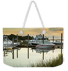 Morgan Creek Weekender Tote Bag