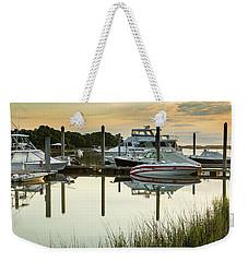 Morgan Creek Weekender Tote Bag