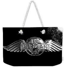 Morgan Nameplate Weekender Tote Bag