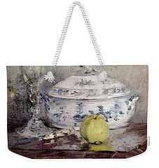 Morisot Berthe Tureen And Apple Weekender Tote Bag by Berthe Morisot