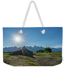 Mormon Row Weekender Tote Bag by Alpha Wanderlust