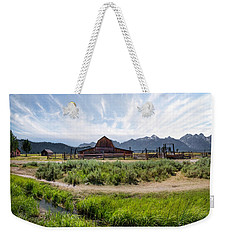 Mormon Row Morning Weekender Tote Bag