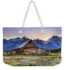 Mormon Row Sunset Weekender Tote Bag
