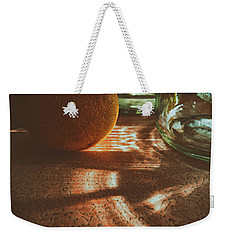 Weekender Tote Bag featuring the photograph Morning Detail by Steven Huszar