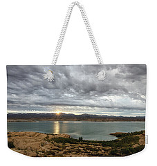 Weekender Tote Bag featuring the photograph Morning After The Storm by Margaret Pitcher