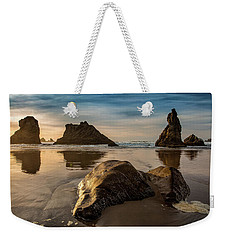 Morning Among The Chess Pieces Weekender Tote Bag