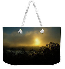 Weekender Tote Bag featuring the photograph Morning Arrives by Karol Livote