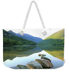 Morning At Echo Lake Weekender Tote Bag by Roupen  Baker